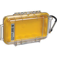 Pelican 1015 Micro Case (Clear Yellow)