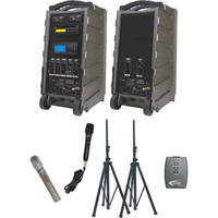 Califone PA919SD-A Integrated Portable PA PowerPro Package