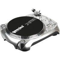 Gemini TT-1100USB Belt Drive DJ Turntable with Cartridge and USB Port