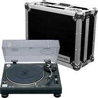 Technics SL-1210MK2 Professional Turntable with Marathon Flight Case