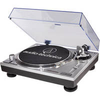 Audio-Technica AT-LP120USB Direct Drive Professional DJ Turntable with USB Output