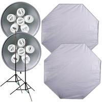 Interfit Super Cool Lite 655 2-Light Kit (110VAC)