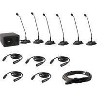 Anchor Audio Councilman CM-6 Conference Microphone Package