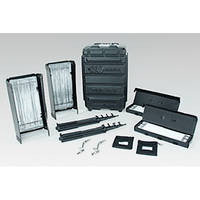Kino Flo Diva-Lite 401 2-Light Flight Case Kit (230VAC)