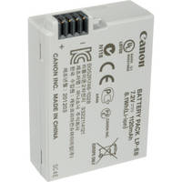 Canon LP-E8 Rechargeable Lithium-Ion Battery Pack (7.2V, 1120mAh)