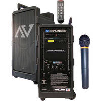 AmpliVox Sound Systems SW915-H Digital Audio Travel Partner w/ Handheld Wireless Microphone
