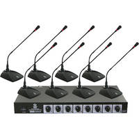 Pyle Pro PDWM8300 VHF Wireless Conference Microphone System