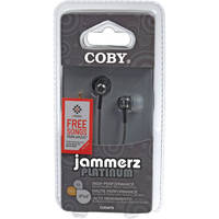 Coby CVEM79 In-Ear Stereo Headphones (Black)