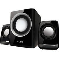 Coby CSMP67 50W Multimedia Speaker System