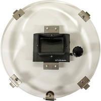 "Equinox 2.5"" LCD 10"" Monitor Back w/ RCA Male Plug"