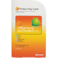 Microsoft Office Home and Student 2010 Software (Product Key Code)