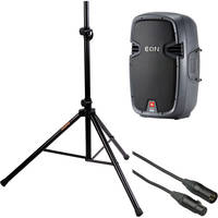 "JBL EON 510 Bi-Amplified 10"" Speaker Kit with Stand"