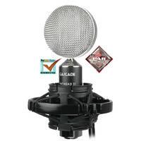 Cascade Microphones Fat Head II Ribbon Microphone (Black / Silver)