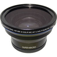 Zeikos 52/58mm 0.34x Super Fisheye Lens