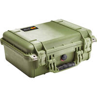 Pelican 1450NF Case without Foam (Olive Drab Green)