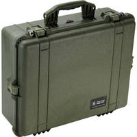 Pelican 1600 Case without Foam (Olive Drab Green)