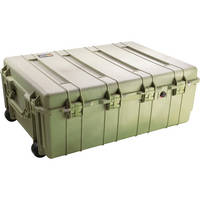 Pelican 1730 Transport Case with Manual Purge Valve (Olive Drab Green)