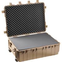 Pelican 1730 Transport Case with Manual Purge Valve (Desert Tan)