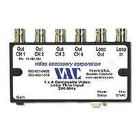 Vac Composite Video Distribution Amplifier (1 x 4)