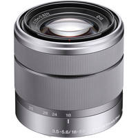 Sony E-Mount SEL 1855 18-55mm f/3.5-5.6 Zoom Lens for Alpha NEX Cameras (Silver)