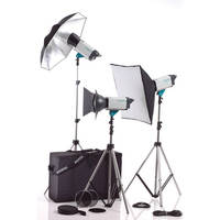 Visatec Solo 308 800B 3-Monolight Kit (230VAC)
