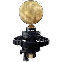 Cascade Microphones Fat Head II  Ribbon Microphone (Black / Gold)