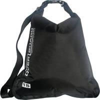 OverBoard Waterproof Dry Flat Bag 15 L (Black)
