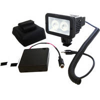 Bescor LED-60AAK 60W LED Compact Light & Battery Box