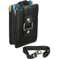 Fujifilm Slimline Compact Case with Blue Stripe