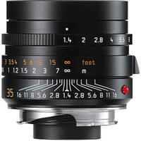 Leica Summilux-M 35mm f/1.4 ASPH Lens (Black)