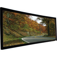 "Elite Screens CURVE235-158W Lunette Fixed Frame Projection Screen (61.7 x 145"")"