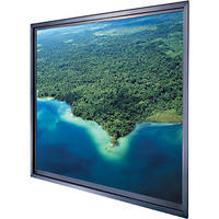 "Da-Lite Polacoat Da-Glas In-Wall Video Format Rear Projection Diffusion Screen (40.25 x 53.75 x 0.25"", Standard Frame)"