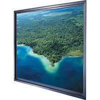"""Da-Lite Polacoat Da-Glas In-Wall Square Format Rear Projection Diffusion Screen (96 x 96 x 0.4"""", Deluxe Frame)"""