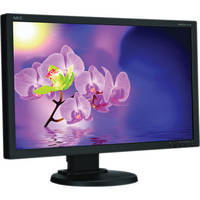 "NEC MultiSync E231W-BK 23"" Widescreen LCD Computer Display"