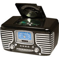 Crosley Radio CR612 Corsair Clock Radio (Black)