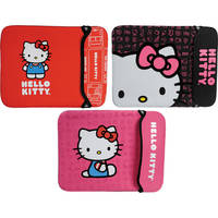 Hello Kitty Neoprene Sleeve for Notebook with a Scre