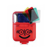 Holga 12S Flash for 135TIM (Red)