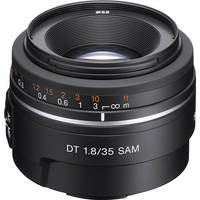 Sony DT 35mm f/1.8 SAM Lens
