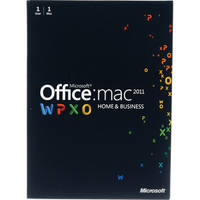 Microsoft Office for Mac Home and Business Edition 2011 (1 License)