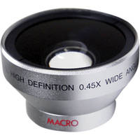 Digital Concepts 0.45x Wide-Angle Lens (37mm, Silver)