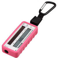 Tascam TC-1S - Solar Rechargeable Instrument Tuner (Pink)