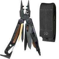 Leatherman Mut EOD Multi-Tool with Black MOLLE Sheath (Black Oxide)