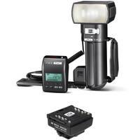 Metz mecablitz 76 MZ-5 Digital Handle Mount Flash W/Nikon Module
