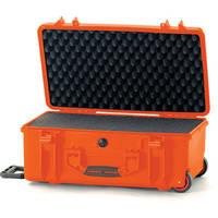 HPRC 2550 Wheeled Hard Case with Cubed Foam Interior (Orange)