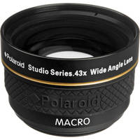 Polaroid Studio Series 37mm 0.43x HD Wide Angle Lens