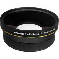 Polaroid Studio Series 72mm 0.43x HD Wide Angle Lens