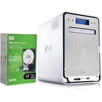 LG N4B2ND Super Multi NAS Enclosure with Blu-ray Re-Writer & 6TB Storage