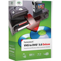 Honest Technology VHS to DVD 5.0 Deluxe
