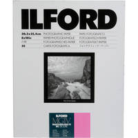 """Ilford Multigrade IV RC Deluxe MGD.1M Black & White Variable Contrast Paper (8 x 10"""", Glossy, 25 Sheets)"""