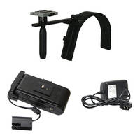 Switronix DSLR Pro Shoulder Support w/ Battery & Charger Kit for Canon 5D Mk II & 5D